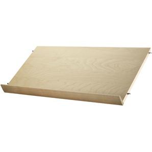 String Zeitschriftenhalterung Holz  78 X 30 Cm Birke (b) 30 X (t) 78 Cm