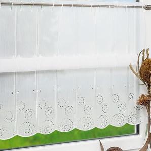 Scheibengardine von LYSEL® Spirale (Bx H) 192cm * 60cm grau/anthrazit