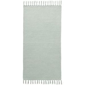 Teppich, grün, Gr. 160/230 cm,  home, Material: Baumwolle, Polyester