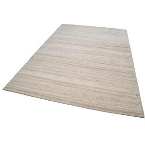Theko® Teppich »Royal Berber Uni«, 60x90 cm, 18 mm Gesamthöhe, beige