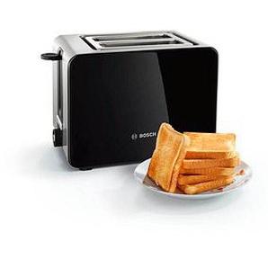 BOSCH TAT7203 Kompakt Toaster schwarz
