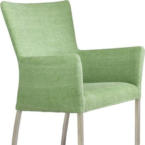 SIT Stuhl »Roma« mit Armlehne, grün