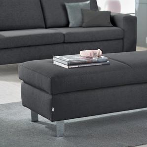 Set One By Musterring Hocker »SO 1100«, grau, 5 Jahre Hersteller-Garantie, hoher Sitzkomfort