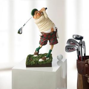 Forchino Figur Golfer, 38 cm H