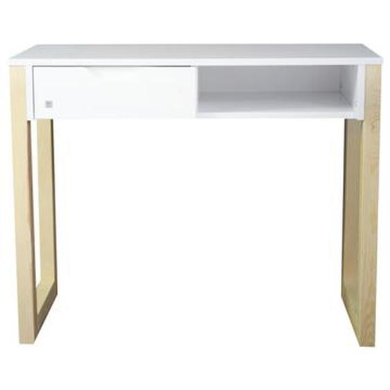 100 cm Schreibtisch Linde