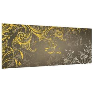 100 cm x 40 cm Glas Spritzschutzpaneel Selbstklebend