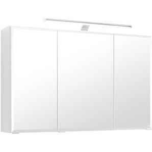 100 cm x 64 cm Spiegelschrank Livorno mit Beleuchtung