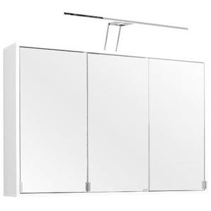 100 cm x 64 cm Spiegelschrank Stockholm mit Beleuchtung