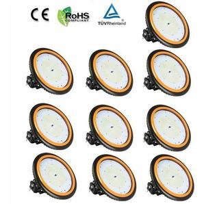 10er Anten LED High Bay Licht 26000lm 200W Neutralweiß(3750-4250K) LED Hallenleuchte/LED SMD Hallenstrahler Dank Schutzart IP65 sowohl für den Innen- als auch Aussenbereich