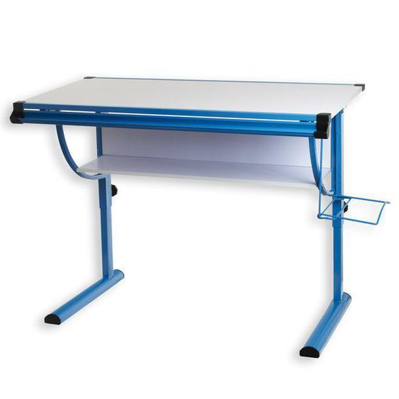 118 cm Zeichentisch Blue