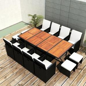 12-Sitzer Gartengarnitur Gilreath mit Polster