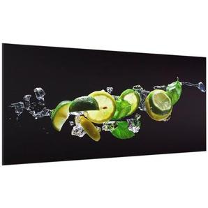 120 cm x 59 cm Glas Spritzschutzpaneel Selbstklebend