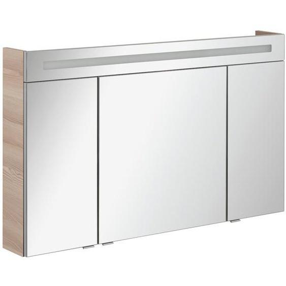 120 cm x 71 cm wandbefestigter Spiegelschrank B.Clever