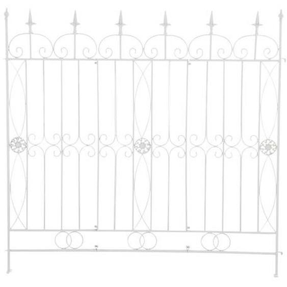 124 cm x 116 cm Gartenzaun Mangold aus Eisen