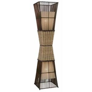 135 cm Säulenlampe Bamboo
