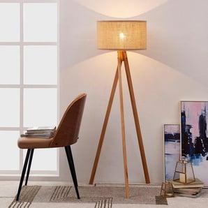 137 cm Tripod-Stehlampe Nikhil
