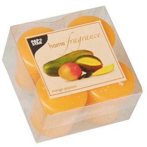 16 Orange Duft-minis Ø 45mm 52mm Mango Papaya Kerzen Duftkerzen