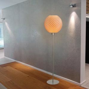 160 cm Stehlampe Fletchwerk Kugel