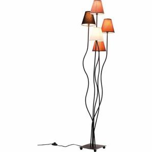 163 cm Spezial-Stehlampe Flexible Mocca