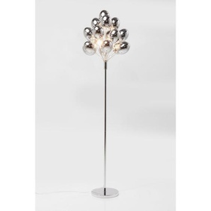 167 cm Stehlampe Silver Balloons