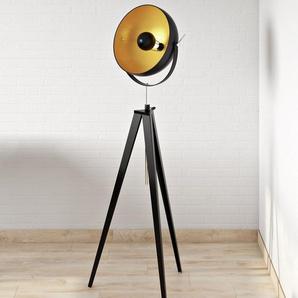 168 cm Tripod-Stehlampe Bowy