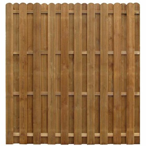 170 cm x 170 cm Gartenzaun Kiely aus Holz