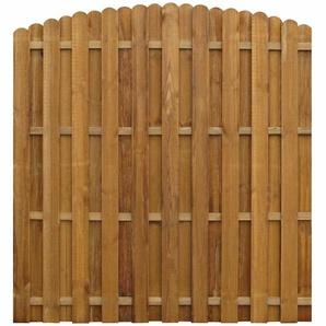 170 cm x 170 cm Gartenzaun Mraz aus Holz