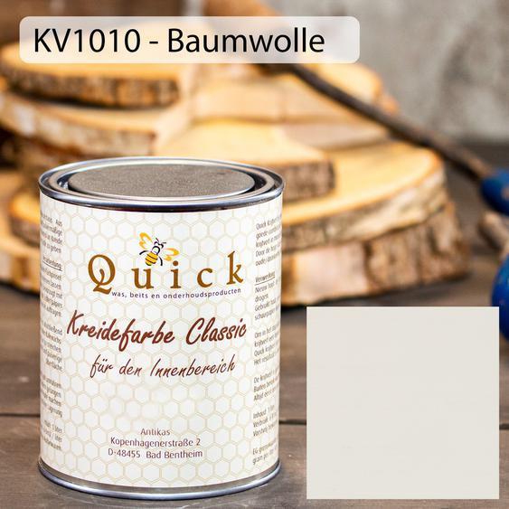 18,95 EUR/l - Kreidefarbe -Baumwolle- Shabby Chic Nostalgie Landhaus Vintage
