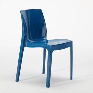 18 Stühle Küchenstuhl Esstischstuhl Esszimmerstuhl ICE Grand Soleil | Blau