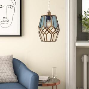 19 cm Lampenschirm aus Glas