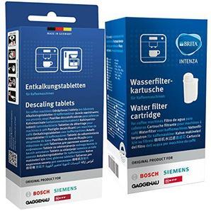 1x Bosch Siemens 17000705 Brita Intenza & 1x Bosch Siemens 00311821 Entkalkungstabletten