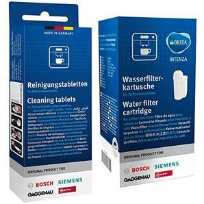 1x Bosch Siemens 17000705 Brita Intenza & 1x Bosch Siemens 00311940 Reinigungstabletten
