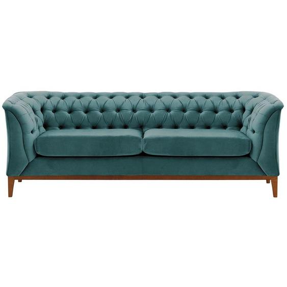 2,5-Sitzer Sofa Chesterfield Modern Wood