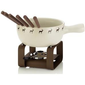 2 L Fondue-Set Henrik aus Keramik