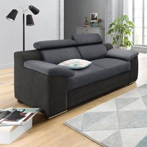 RAUM.ID 2-Sitzer, schwarz, 180cm, FSC-Zertifikat, , , FSC®-zertifiziert