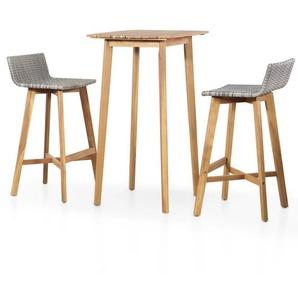 2-Sitzer Bartisch-Set Fortner