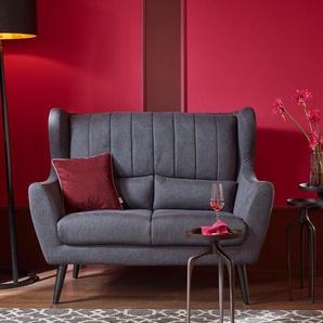 2-Sitzer , dunkelblau, 144cm, »Venlo«, FSC®-zertifiziert, Guido Maria Kretschmer Home&Living