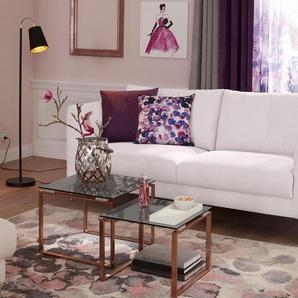 2-Sitzer , helllila, 167cm, »Lille«, Guido Maria Kretschmer Home&Living