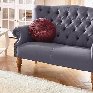 Home affaire 2-Sitzer »Lord«, lila, 138cm, FSC®-zertifiziert