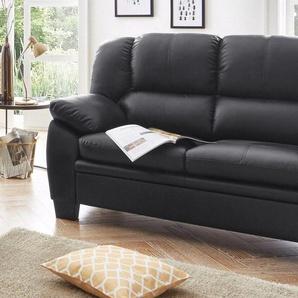 ATLANTIC home collection 2-Sitzer, schwarz, 149cm, FSC-Zertifikat, ,
