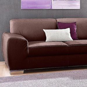 2-Sitzer, braun, 204cm, FSC®-zertifiziert, DOMO collection