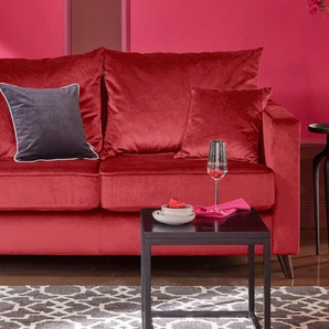 2-Sitzer , rot, 163cm, »Renesse«, Guido Maria Kretschmer Home&Living