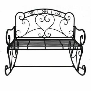 2-Sitzer Schaukelbank aus Metall