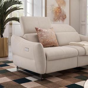 2-Sitzer Stoff Sofa MODENA mit FUNKTION