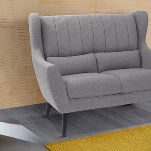 2-Sitzer »Valga«, grau, 144cm, Guido Maria Kretschmer Home&Living