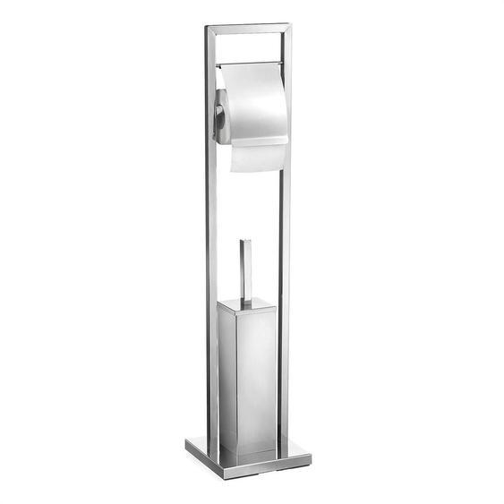 2-tlg. Freistehendes Toilettenbürsten-Set Renate