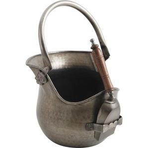 2-tlg. Kaminbesteck Noyola aus Eisen