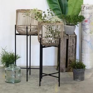 2-tlg. Pflanzenständer-Set Conkle