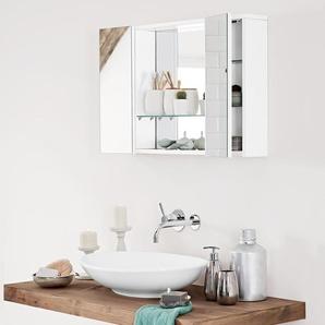 2-türiger Bad-Spiegelschrank
