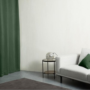 2 x Marzia Vorhangschals (135 x 260 cm), Blattgruen